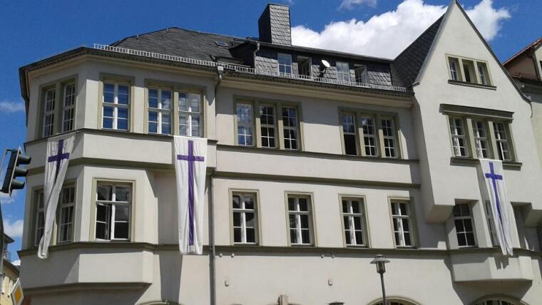 Zentralgebäude der Theologischen Fakultät.